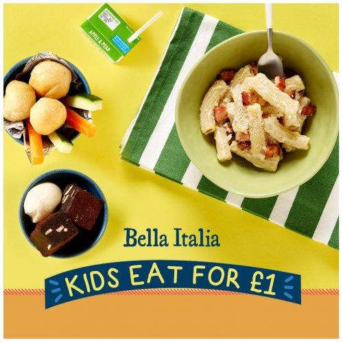 Kids eat for £1 at Bella Italia